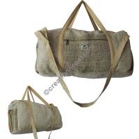 Hemp travel hand bag1