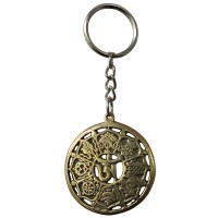 8-auspicious signs key ring