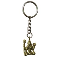 Shiva meditation key ring