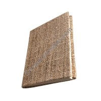 Hemp cloth cover small notebook