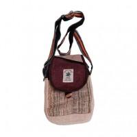 Multi fabric hemp small bag