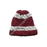 Cable design woolen cap3