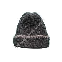 Cable design woolen cap4