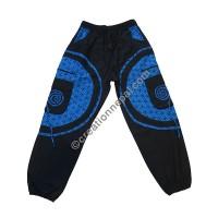 Mandala patch cotton trouser5