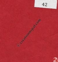 Nepali lokta paper sheet42
