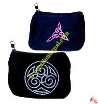 Velvet coin purse 4
