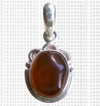 Small oval shape pendant