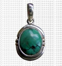 Small turquoise pendant 1