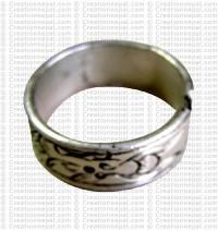 Carved finger ring 5