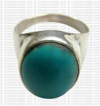 Turquoise finger ring 14