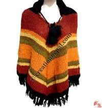 Woolen poncho 2
