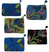 Assorted color felt purse5