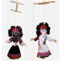 Nepalese traditional puppets