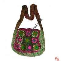 Recycled cotton and art silk  bags