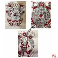 Handmade paper sheets