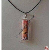 Blessed mantra amulets pendant