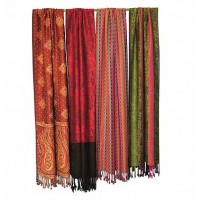 Cotton scarves and shawls