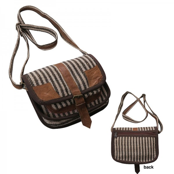 4fe6e6c491e9 Creation Nepal Hemp-leather small shoulder bag Handicrafts Clothing ...